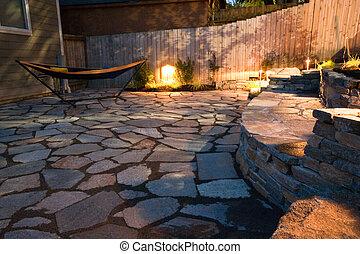 Yard - Urban backyard