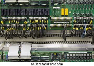 Electronic board - Industrial electronic board in automation...