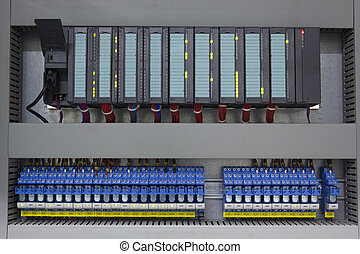 Industrial automation with programmable logic controller and...