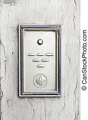 Old intercom in a house
