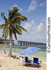 Bahia Honda - calm beach in the florida Keys