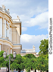 Classicism - Buildings of the Classicism style in Odessa,...