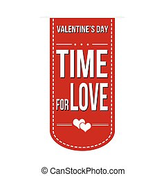 Time for love banner