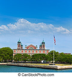 Ellis Island Immigration Museum Jersey city NY - Ellis...