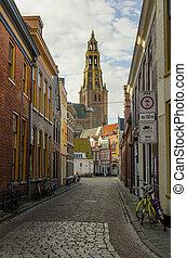City Center in Groningen