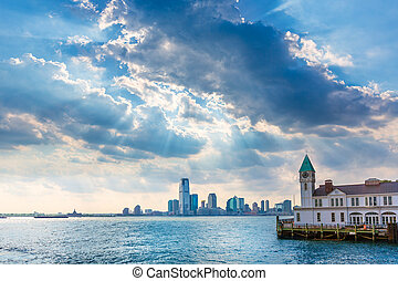 Pier A in Battery Park Manhattan New York - Pier A in...