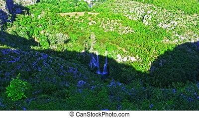 Manojlovac waterfall Krka river - Manojlovac waterfall on...