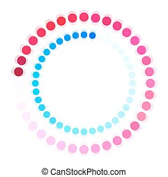 Processing - Abstract Processing Arrow Dotted Circle Frame...