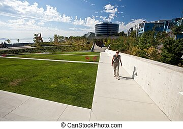 Olympic Sculpture Park is a public park in Seattle,...