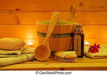 Sauna Accessories Set - Wellness