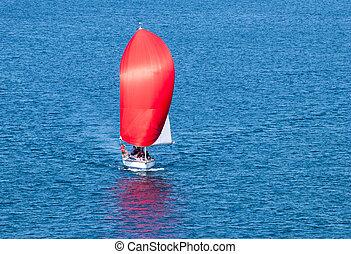 紅色, 航行,
