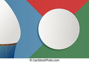 Fat man info-graphic design - Illustration of a fat man in...