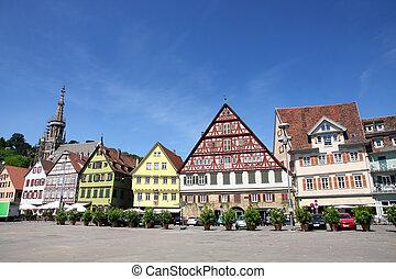 Esslingen am Neckar, Baden Wurttemberg, Germany - Medieval...