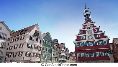 Esslingen am Neckar, Baden Wurttemberg, Germany -...