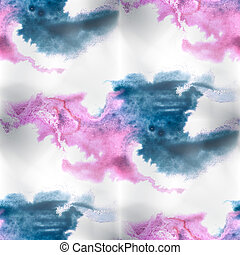 Mural background blue, pink seamless pattern background...