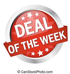 Button with banner quot; DEAL OF THE WEEK quot; - Button...