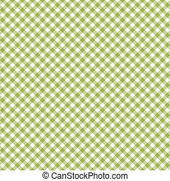 Checkered pattern green - endless
