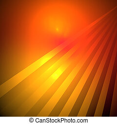 Abstract elegance background. Red - yellow palette.