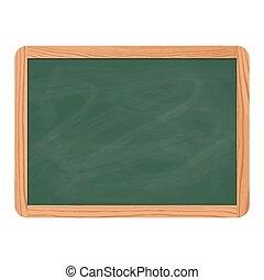 Blackboard slate green