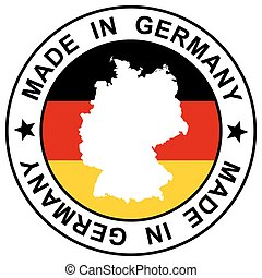 """Stamp """" Made in Germany """""""