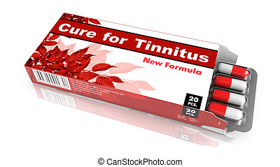 Cure For Tinnitus Red Open Blister Pack - Cure for Tinnitus,...
