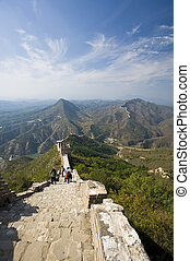 Great Wall of China - View from the Great Wall of China