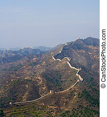 Great Wall of China evening