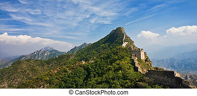 Great Wall of China landscape