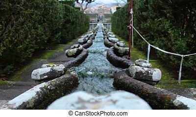 Fountain Of The Chain Villa Lante - Fountain of the Chain in...