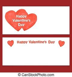 Happy Valentines Day Banner.