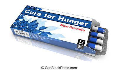 Cure for Hunger - Blister Pack Tablets - Cure for Hunger -...