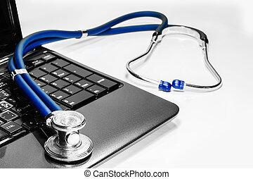 stenoskop on laptop repair service maintenance warranty...