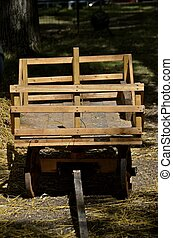 Horse drawn hay rack - A smaller sized horse drawn hay rack...