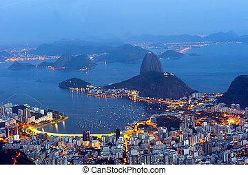 Rio de Janeiro, Brazil - January 11, 2015: Panoramic from...