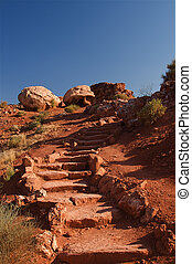 Red Rock Arches - Natural red rock arches at Arches National...