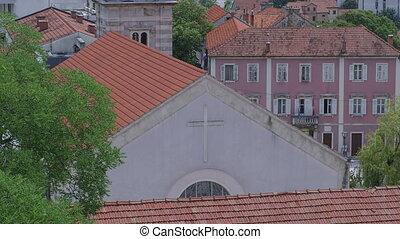 Church of Our Lady in Sinj - View of the church of Our Lady...