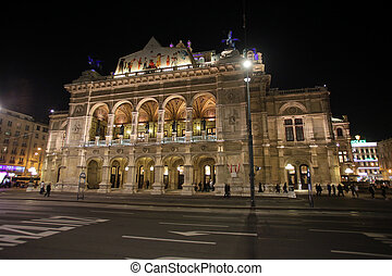 Vienna State Opera House. Vienna, Austria on October 10,...