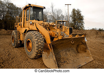 Construction equipment - Couple of construction equipment at...