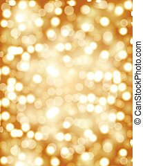 Golden bokeh background - Golden bokeh. Golden background....