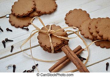 Cinnamon cookies - Christmas cinnamon cookies