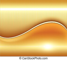 Gold abstract background, elegant and soft vector...