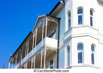 Residential Architecture in Ruegen Germany