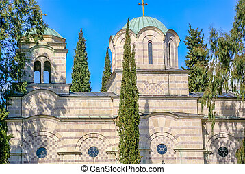 Orthodox Church in Tivat, Montenegro