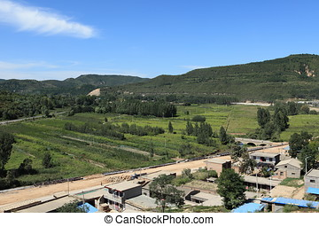 The Landscape of Shaanxi in China