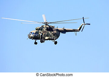 Transport helicopter - Modern russian military transport...