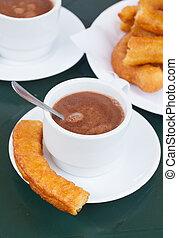 spanish pastry - churros