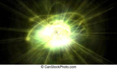 atom loop - Seamless pulsing atom loop