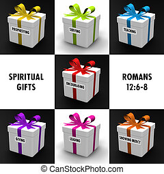 Spiritual Gifts - Gifts representing the gifts of the Holy...