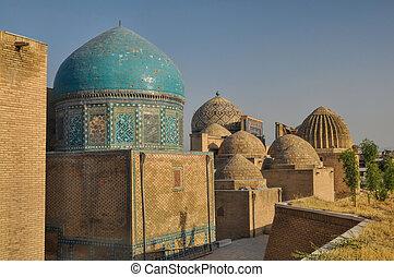 Domes in Samarkand