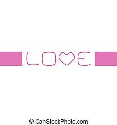 Small Inscription Love
